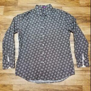 "Paul Smith ""flower speck"" shirt /Sz 17 1/2"